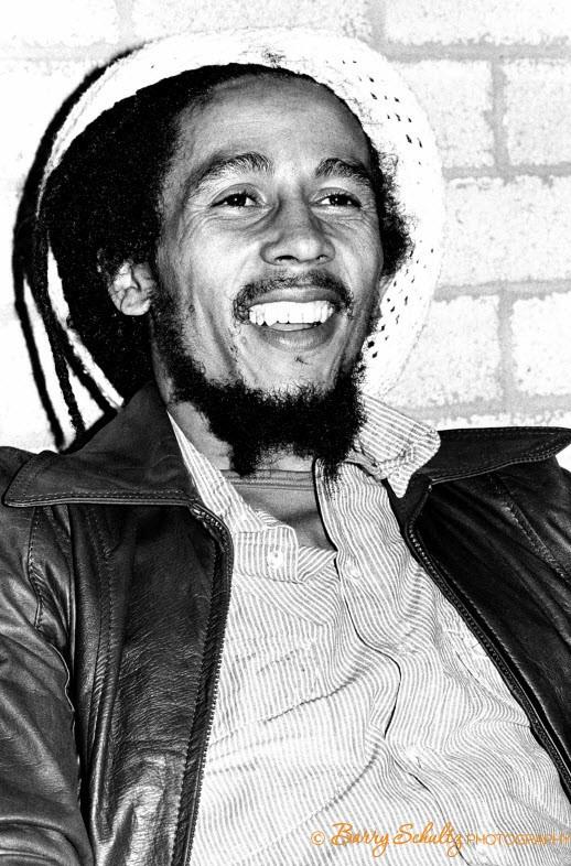 Bob Marley Backstage at Ahoy Hall, Rotterdam before performing live at Ahoy Hall, Rotterdam, The Netherlands on JULY 7, 1978.