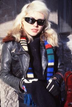 Deborah Harry in Amsterdam, the Netherlands, January 1978.