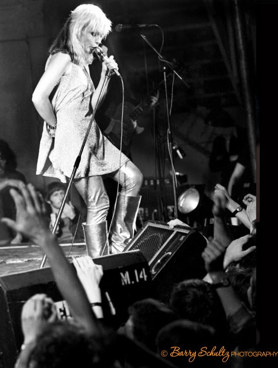 Blondie, live, Amsterdam, Paradiso, boots