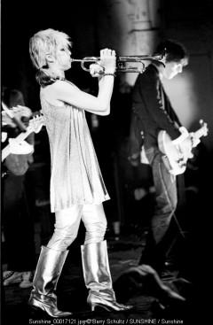 Blondie, Debbie Harry, trumpet, Amsterdam, paradiso, live
