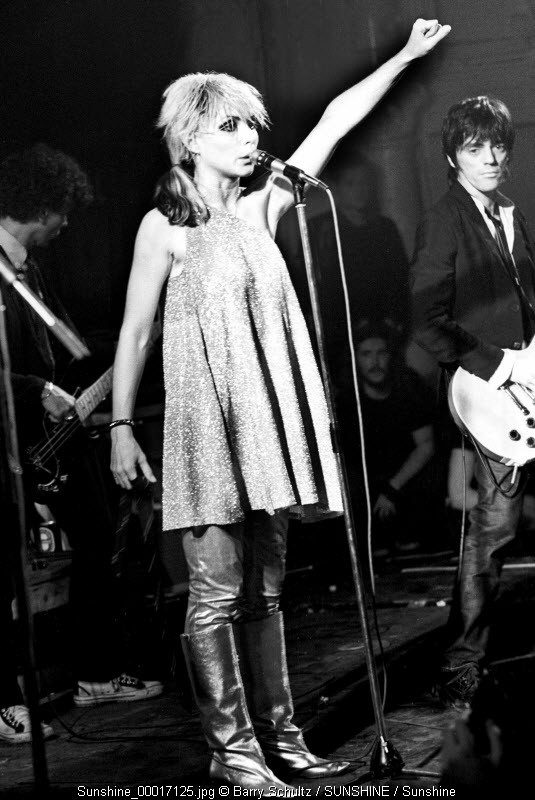 Blondie, live, Amsterdam, Paradiso, boots, Debby Harry