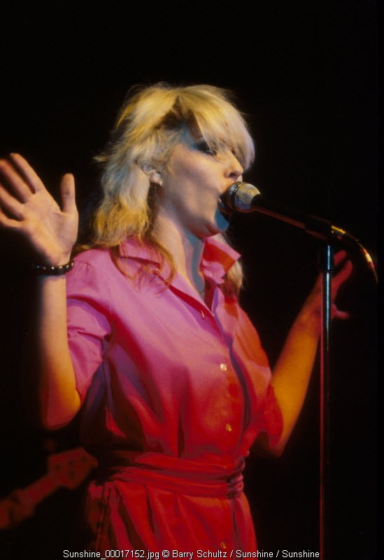 debbie harry, blondie, live, concert, 1978, los angeles,
