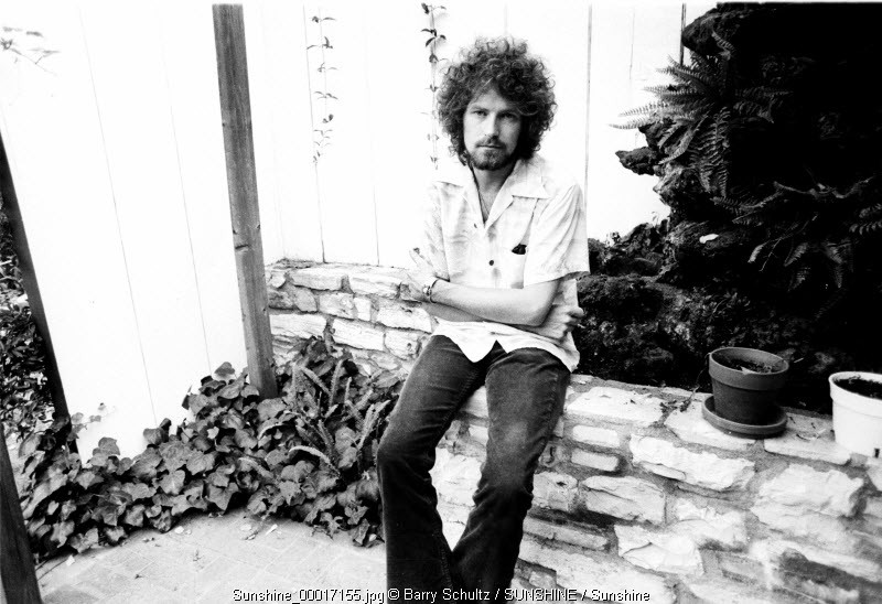 photo of Glenn Frey of the Eagles made at his home in Los Angeles in 1975 exclusive portrait Glenn Frey RIP January 2016 Glenn RIP January 2016