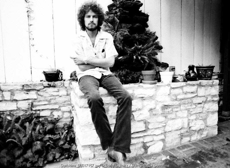 Don Henley of the Eagles made at the home of Glenn Frey in Los Angeles in 1975