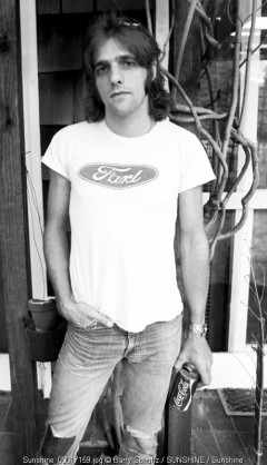 Glenn Frey of the Eagles made at the home of Glenn Frey in Los Angeles in 1975