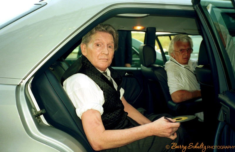 jerry lee lewis, barry schultz, live, car, jukebox, great balls of fire, holland, amsterdam, netherlands