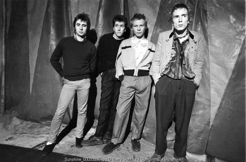 sex pistols, barry schultz, johnny rotten, steve jones, paul cook, glen matlock, sid vicious, holidays in the sun, bodies, god save the queen, anarchy in the UK, pretty vacant