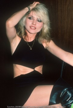 Blondie, Debbie Harry, backstage,