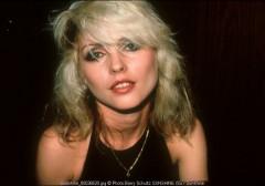 Debbie Harry, Blondie, backstage, L.A.
