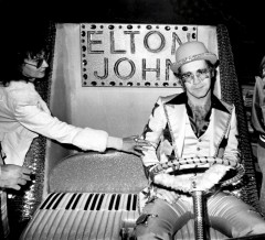 elton john, barry schultz, classic rock photography, rock photographer, iconic rock and roll, fine art, print photography, your song, live, posed, costume, candle in the wind, tiny dancer, rocket man, bennie and the hets, saturday nights alright for fighting