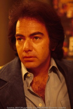 neil diamond, barry schultz, amsterdam, live, 1977, netherlands, vest, praying, press, press conference