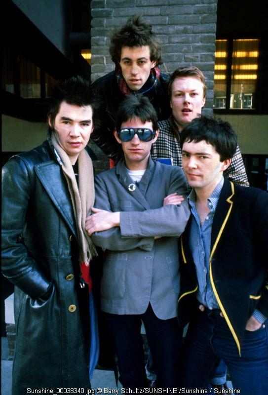 boomtown rats, barry schultz, bob geldof, fingers, cott, rock, netherlands, holland, 70s, 80s,