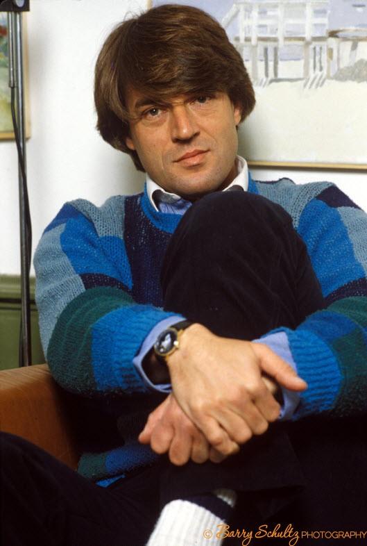 Jeroen Krabbe, barry schultz, posed, home, actor, director, left luggage