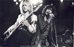 aerosmith, barry schultz, steven tyler, joe perry, rock, guitar, live, netherlands, 1970s, 70s, Amsterdam, holland, boston