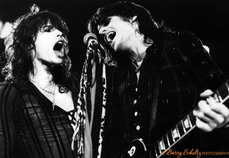 aerosmith, barry schultz, steven tyler, joe perry, rock, guitar, live, netherlands, 1970s, 70s, Amsterdam, holland, boston