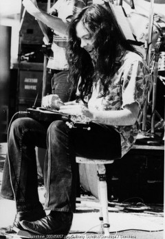 Jackson Browne, Barry Schultz, LA, Los Angeles, Anaheim, 1975, eagles, 70s, stadium, slide, david lindley, guitar, electric