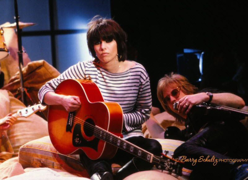 chrissie hynde, the pretenders, barry schultz, netherlands, holland, TopPop, 80s, old school cool