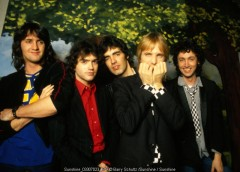 tom petty. tom petty and the heartbreakers, barry schultz, posed, amsterdam, tv, studio, holland, netherlands, retro, 80s, 70s