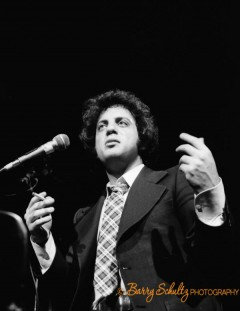 The Piano Man gave a concert at Koepelkerk, Amsterdam, the Netherlands, on March 5, 1978.