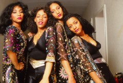 sister sledge, barry schultz, we are family, he's the greatest dancer, lost in music, my guy, thinking of you, frankie, posed