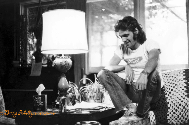 Glenn Frey of the Eagles made at his home in Los Angeles in 1975
