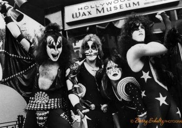 kiss, barry schultz, hollywood, starchild, demon, spaceman, space ace, catman, 1976
